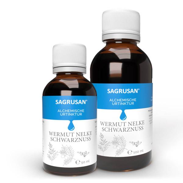 Wermut- Nelke-Schwarznuss Tinktur 50/100 ml